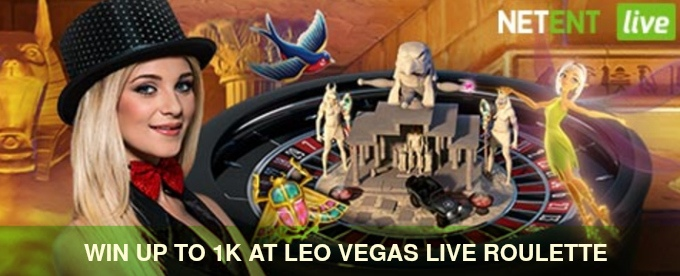 Play and Win at LeoVegas Live Roulette