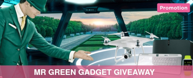 Win gadgets at Mr Green casino