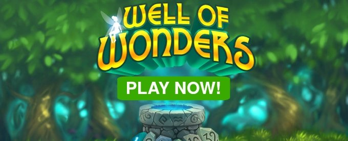 Play Well of Wonders slot at Casumo Casino