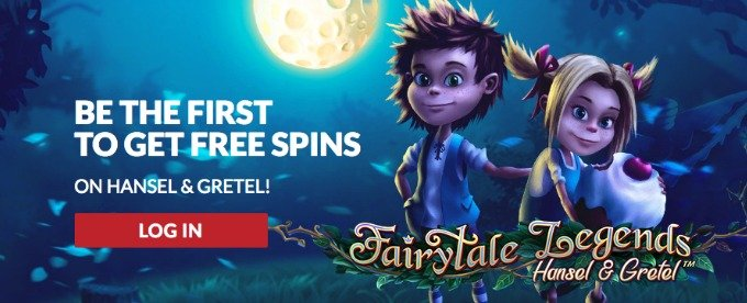 Win Free Spins for Hansel and Gretel slot at Guts casino