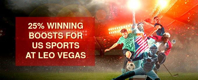Receive 25% Extra Winnings on US Sports at LeoVegas