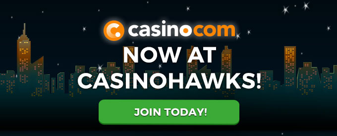 Join CasinoHawks today!
