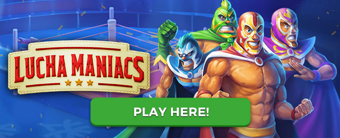 Play Lucha Maniacs slot here!