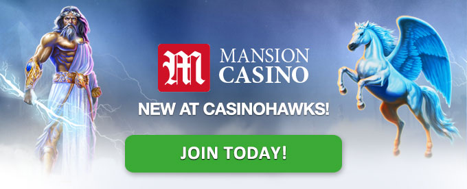 Join Mansion Casino today!