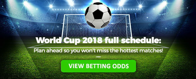 World Cup 2018 full schedule: View betting odds