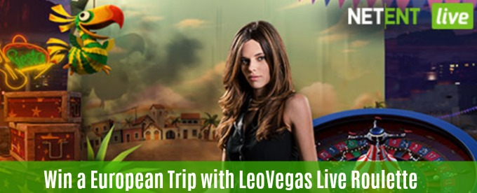 Win a trip to Europe, cash and free spins at LeoVegas casino