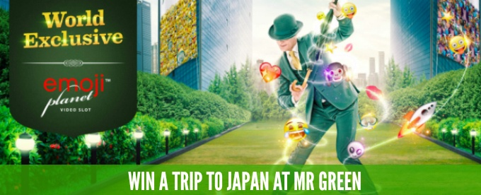 Win a trip to Japan at Mr Green casino