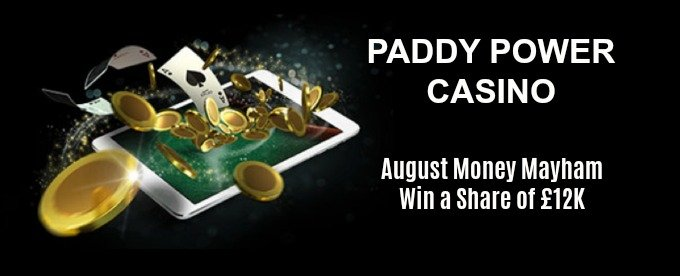 Paddy Power August Money Mayhem - join now