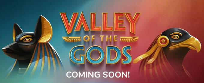Play Valley of the Gods slot at Mr Green casino