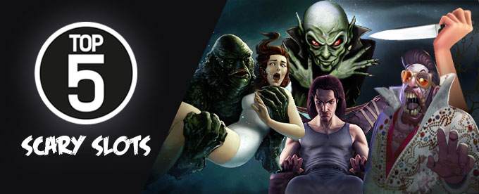 Top 5 scary slots online - play at Casumo casino