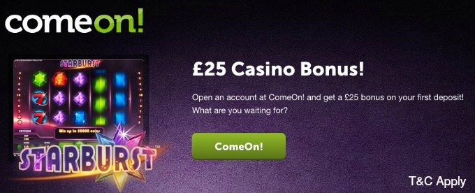 Play On ComeOn casino