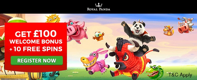 Get Royal Panda welcome bonus now