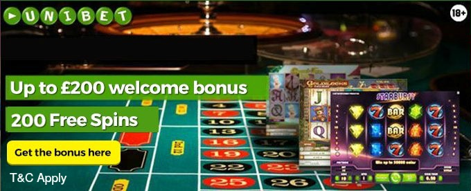 get unibet casino welcome bonus
