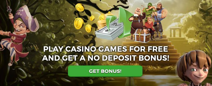 Play casino games for free and get bonus