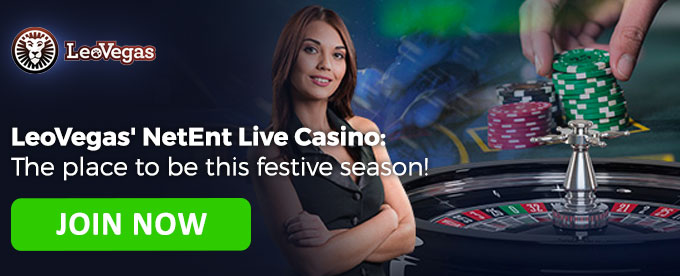 Join the LeoVegas NetEnt Live Promotion