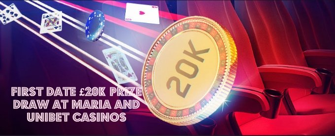 Win up to £3,000 at Maria and Unibet Live Casino Cash Draw
