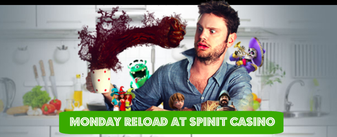 Claim your 25% Monday Reload Bonus from Spinit Casino here