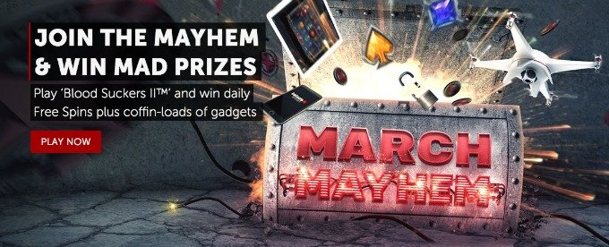 Win Free Spins and Gadgets at Betsafe Blood Suckers 2 Mayhem