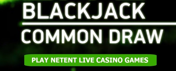 Play NetEnt Live Common Draw Blackjack at Casumo Casino