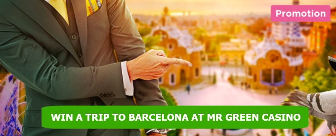Win cash and Barcelona trip at Mr Green Casino