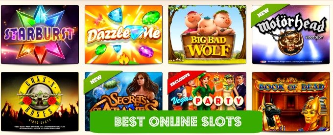 best online casino websites slots online games