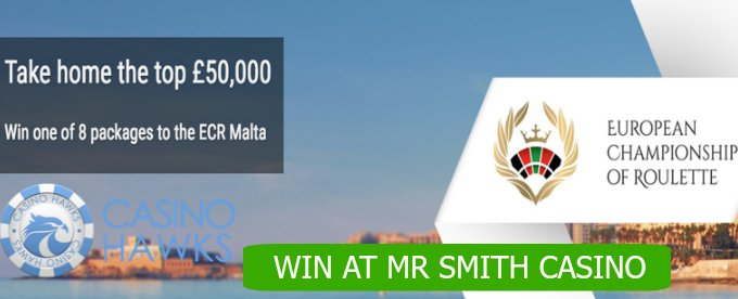 Win one of the 8 tickets to ECR Malta at Mr Smith Casino