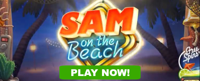 Play Sam on the Beach slot at Dunder casino