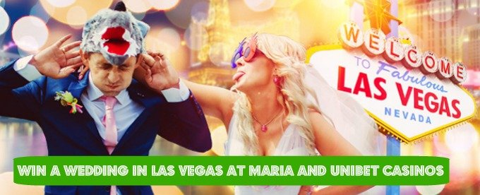 Win a Las Vegas wedding at Unibet casino