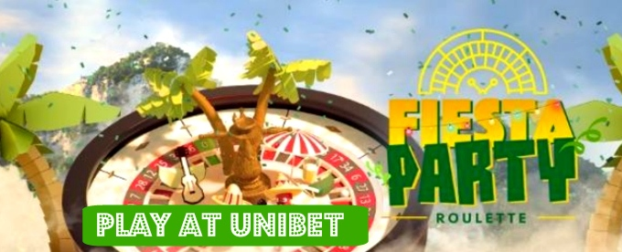Win up to £500 with Unibet Roulette Fiesta Party