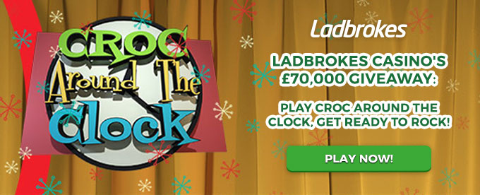 Play Croc Around the Clock slot here!