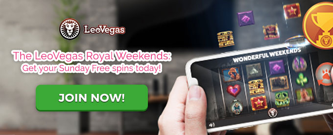 Join LeoVegas casino now!