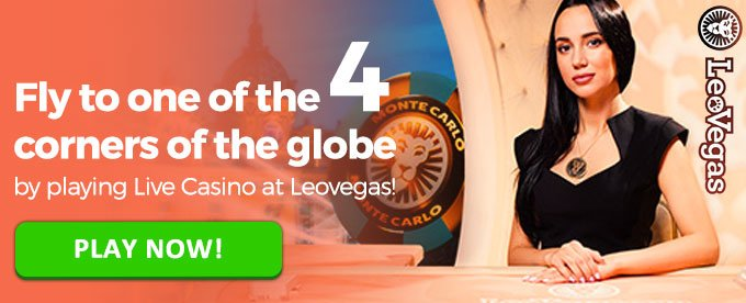Play Live Casino with LeoVegas