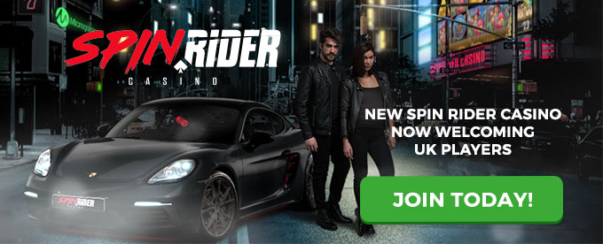 Join Spin Rider casino today