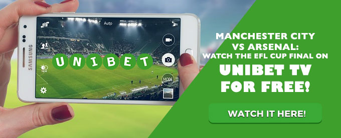 Watch the League Cup Final at Unibet