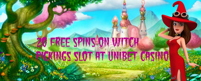 Play and win free spins on Unibet casino