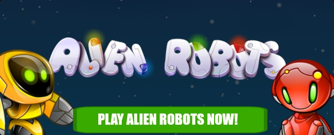 Play Alien robots at Casumo casino