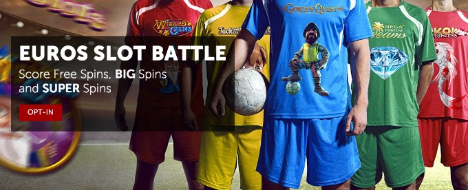 Get Free, Big and Super Spins in Betsafe EUROS Slot Battle