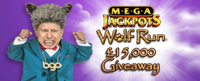 Win £15,000 with Wolf Run promo at bgo casino