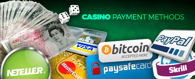 Casino Payment Methods overview