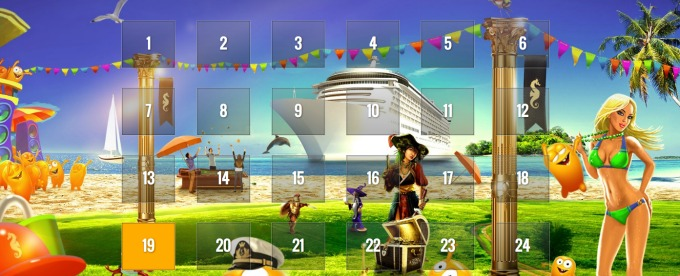 Summer Splash daily offers at CasinoCruise