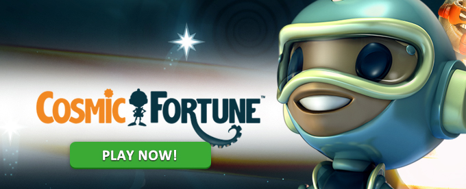 Play Cosmic Fortune slot at Casumo Casino