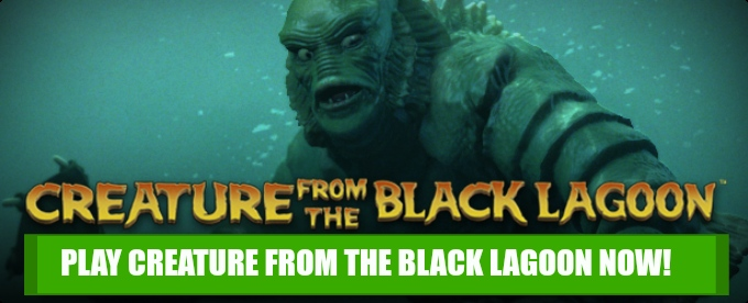 Play Creature from the Black Lagoon slot at Rizk Casino