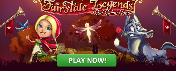 Play FairyTale Legends: Red Riding Hood slot at Casumo casino