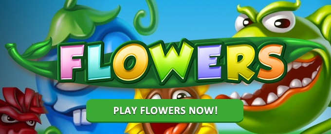 Play Flowers slot at Casumo casino