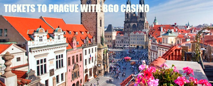 Win a trip to Prague with BGO Casino