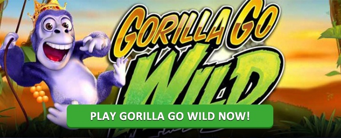 Play Gorilla Go Wild slot on Leo Vegas Casino