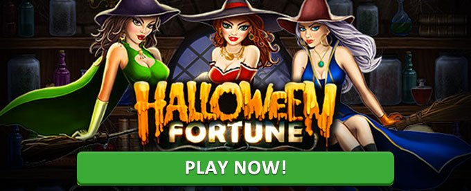Play Halloween Fortune slot at bgo casino
