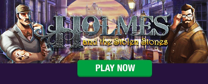 Holmes and the Stolen Stones on Leo Vegas casino