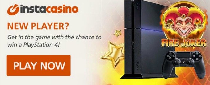 Win Playstation 4 at InstaCasino