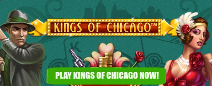 Play Kings of Chicago at Mr Green casino